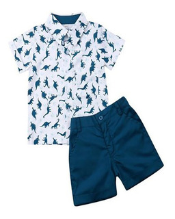Camisa Para Niño Conjutno Con Short Para Niño