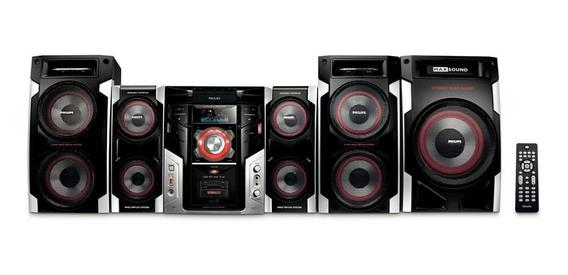 Mini System Hi-fi C/mp3 Usb Fwm996 Philips Novo Com Garantia
