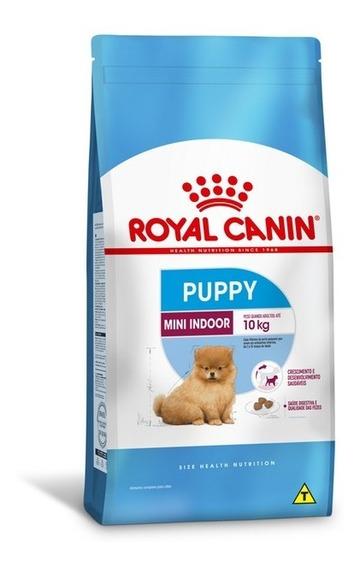Ração Royal Canin Mini Indoor Puppy 1kg Cães Filhotes Junior