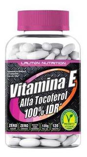 Vitamina E 10mg 400 Ui 120 Tabs Lauton Nutrition
