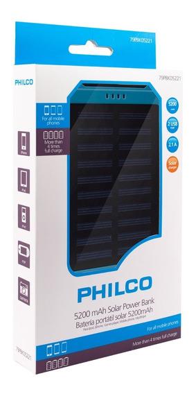 Power Bank Solar 5200 Mah | Philco