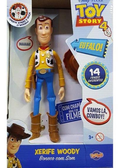 Boneco Toy Story - Xerife Woody Fala Portugues 38191 Toyng