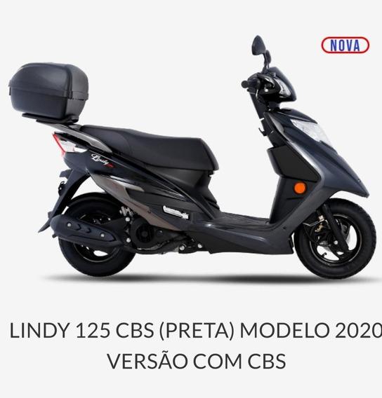 Honda Elite 125 Lindy 125 Cbs 2021 - Pronta Entrega ( A )
