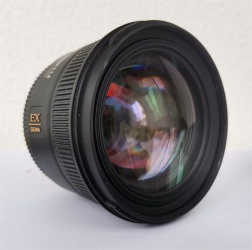 Lente Sigma Ex 50mm F/1.4 Dg Hsm P/ Canon
