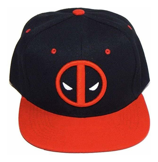 Hat Universe Deadpool Gorra Bordado 3d Black Red Mascara