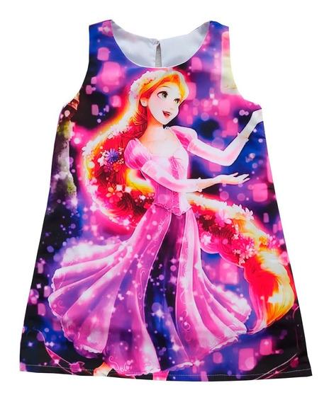 Vestidos Princesa Rapunzel - Ig