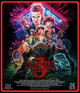 Blu-ray Stranger Things Temporada 3 Completa