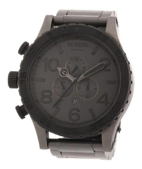 Relógio Ma17 Nixon 51-30 Chumbo Lançamento 2019 Cinza