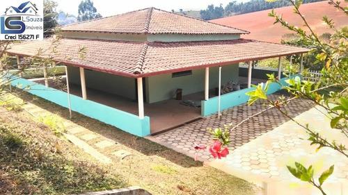 Chácara Rica Em Água Com Escritura Registrada Localizada Em Pedra Bela, Interior De São Paulo; - 1136 - 69192544