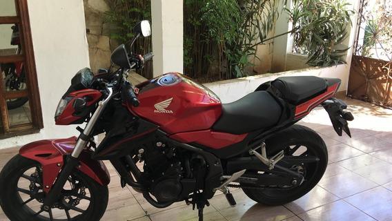 Honda Cb 500 F 2016/16 Excelente Estado Aceito Moto