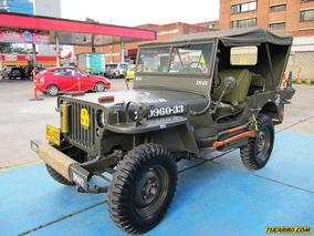 Jeep Willys Mb Militar