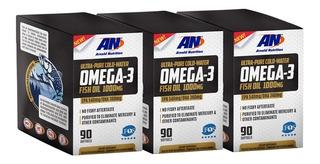 Ômega 3 1000mg Arnold Nutrition 90 Softgels - Leve 3 Pague 2