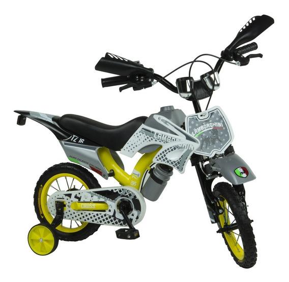 Bicicleta Infantil Nene Moto Cross Rodado 12 Babymovil 7110