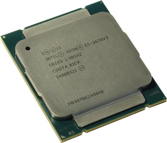 Processador Cpu Intel E5-2670 V3 2.3ghz 12 Core 2011-3 C/nf!