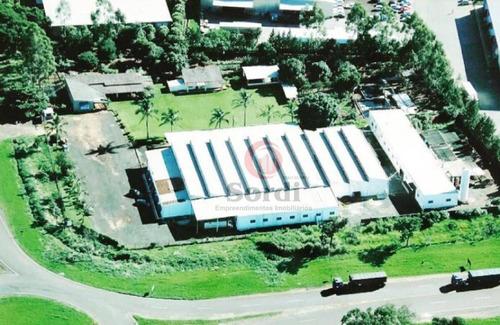 Barracão, 4300 M² - Venda Por R$ 5.800.000,00 Ou Aluguel Por R$ 15.000,00/mês - Distrito Industrial - São Simão/sp - Ba0002