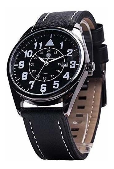 Smith & Wesson Sww-6063 The Civilian Reloj De Hombre Con Cor