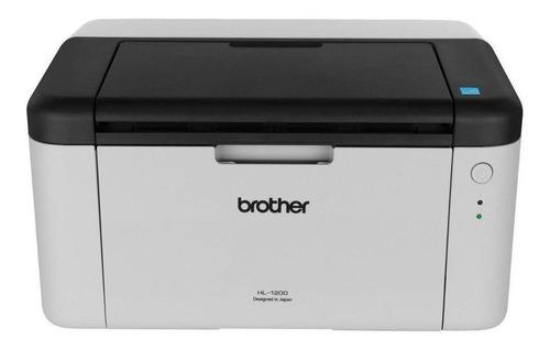 Impresora Brother HL-1 Series HL-1200 blanca y negra 220V