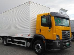Caminhão Toco Baú + Plataforma Vw 15190 2013