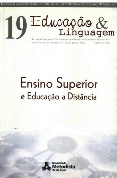 Ensino Superior E Educação A Distância- Mestrado Em Educação