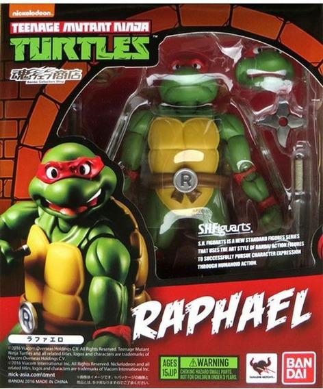 Raphael Tmnt Replica Bandai Sh Figuarts Pronta Entrega!!