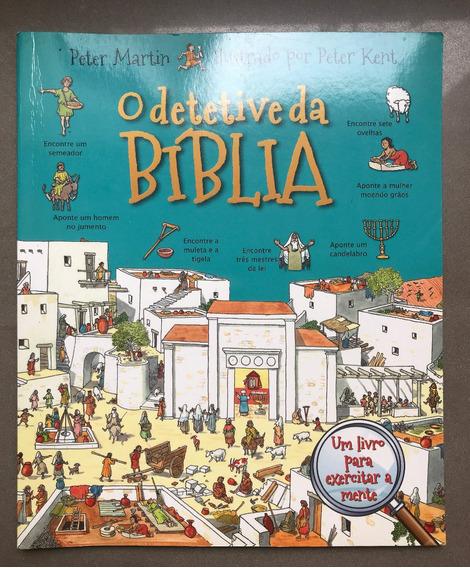 Livro O Detetive Da Bíblia Para Crianças