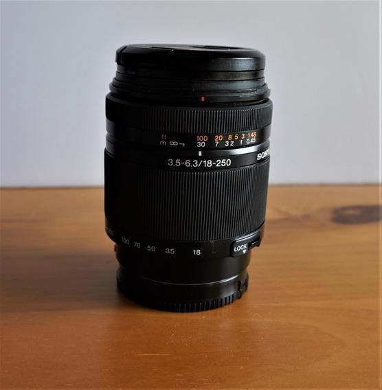 Lente Sony 18-250mm A Mount