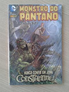 Monstro Do Pântano: N. C. Em J. Constantine! (os Novos 52!)