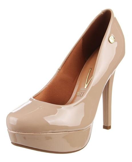 Zapato Mujer Taco Alto Fino 12cm Plataforma 3 Cm Vizzano