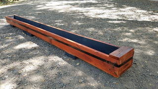 Macetero / Huerto Vertical Artesanal Solidario-madera 2,4m!