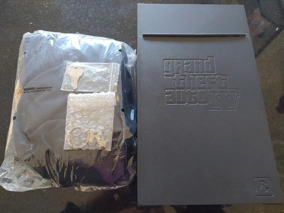Grand Theft Auto Gta Iv 4 Special Itens Cofre Bolsa Chaveiro