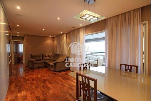 Apartamento Com 3 Dormitórios À Venda, 117 M² Por R$ 1.185.000 - Vila Leopoldina - São Paulo/sp - Ap18563