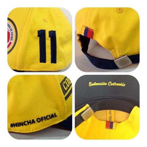 Imagen 1 de 1 de Gorras Selección Colombia De Fútbol Licenciadas Bordadas Fcf
