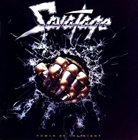 Savatage.power Of The Night.cd.usa.prim Ed.impecable