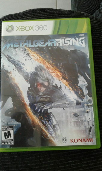 Metal Gear Rising, Xbox 360 - 2 Dias De Uso.