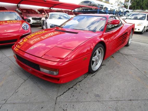 Ferrari Testarossa Flying Mirror 1985