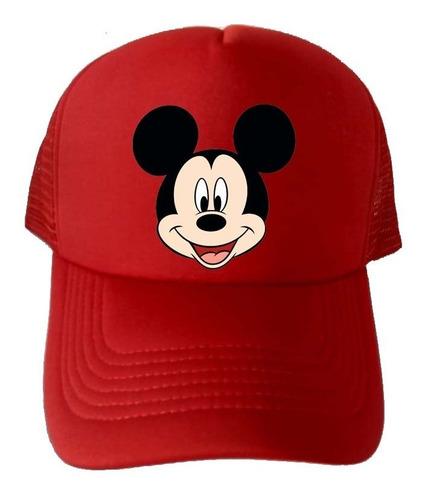 Gorra Cachucha Mickey Mouse Unisex