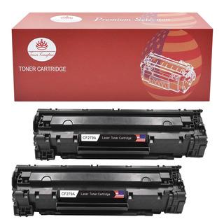 2 X Cf279a 79a Toner Cartucho Reemplazar Para La Impresora D