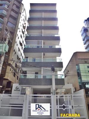 Apartamento 1 Quarto Para Venda Em Praia Grande, Canto Do Forte, 1 Dormitório, 1 Banheiro, 1 Vaga - Ap00053