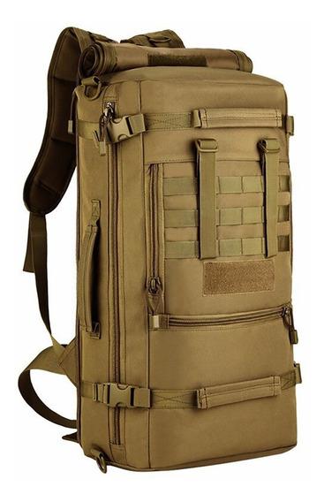 Mochila Bolso 60l Tactico Militar Impermeable