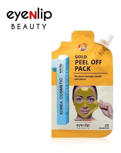 Imagen 1 de 1 de Mascarillas Peel Off Pack Eyenlip Gold Coreana