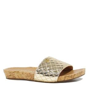 f691592ad3 Sandalia Via Marte Preta Dourada - Sapatos no Mercado Livre Brasil