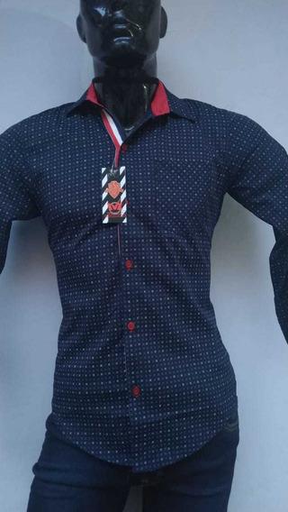 Camisa Caballero De Moda Marca Ivl