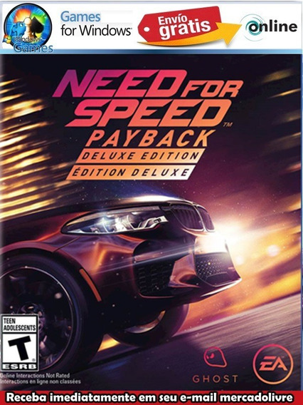 Need For Speed Payback Pc Digital Jogo Offline