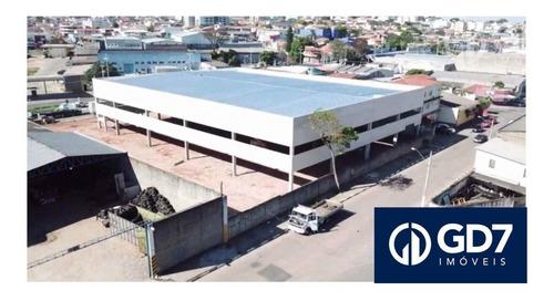 Imagem 1 de 4 de Galpão Comercial Para Alugar, 3699 M2 (área) / 2600 Construído Por R$ 60.000/mês - Caetetuba - Atibaia/sp - Ga0001