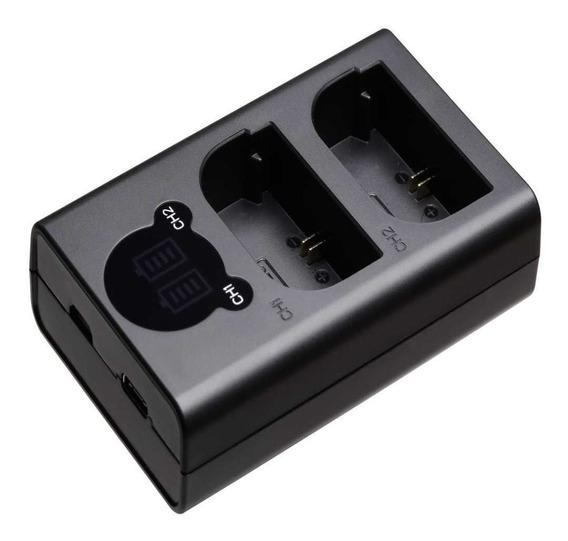 Duplo Carregador En-el15 Para Nikon D7000 D7100 D600 D800