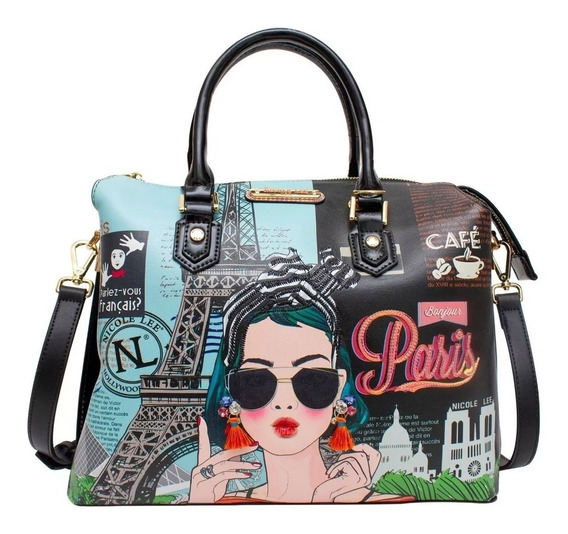 Nicole Lee Cartera Original Xoxo From Paris Boston Bag