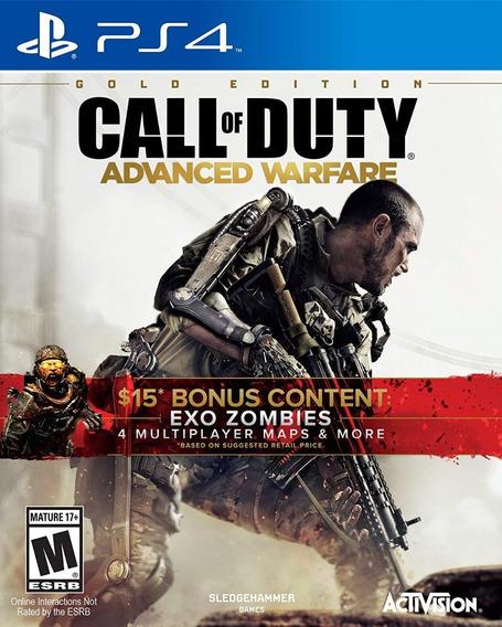 Call Of Duty Advanced Warfare Gold Edition Bonus Nota Fiscal