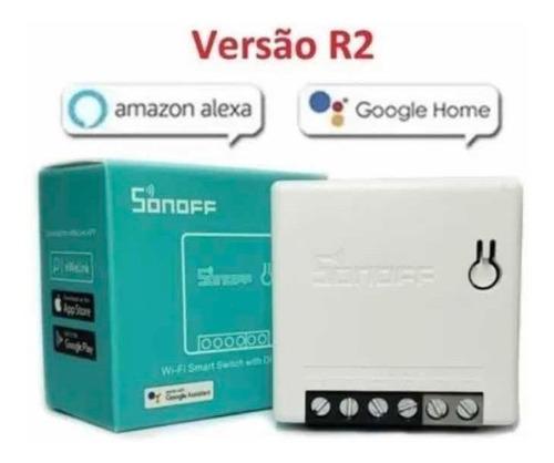 Imagem 1 de 9 de Sonoff Mini - Google E Alexa  Pronta Entrega!