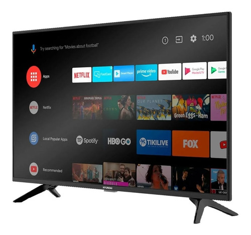 Smart Tv Hyundai 43 Pulgadas Android Control Voz Bluetooth