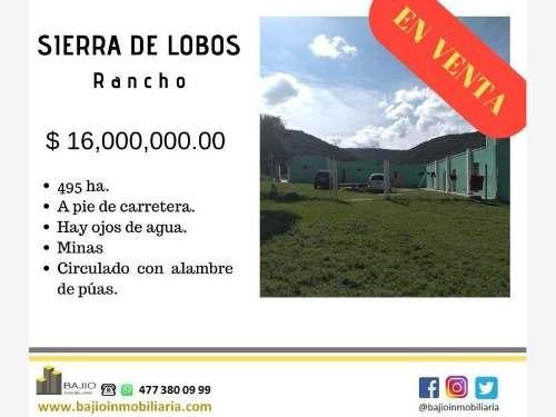 Rancho En Venta Sierra De Lobos